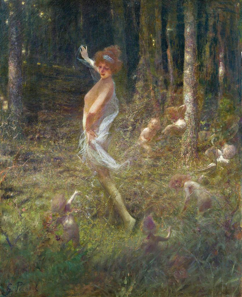 Famous Woodland Painting