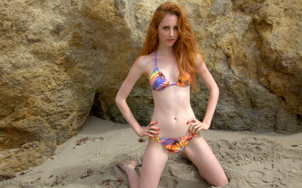 Fresh Teen Redhead In Long 31