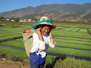 Rural farmer in He Qing Yunnan, China. Photo by Hong Meen Chee, 2009 | by WorldFish