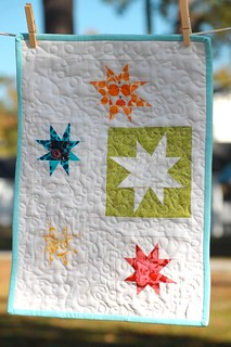 Post Summit Swap - mini quilt! | by amylouwhosews