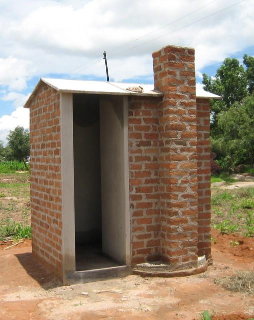 Ventilated Improved Pit Latrine Zimbabwe Flickr Photo