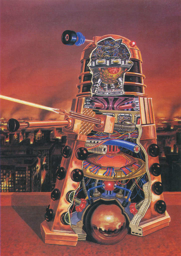 The Anatomy Of A Dalek | combomphotos | Flickr