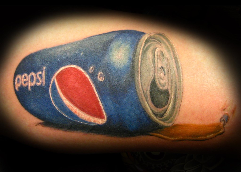 10 positively awesome pepsi tattoo designs