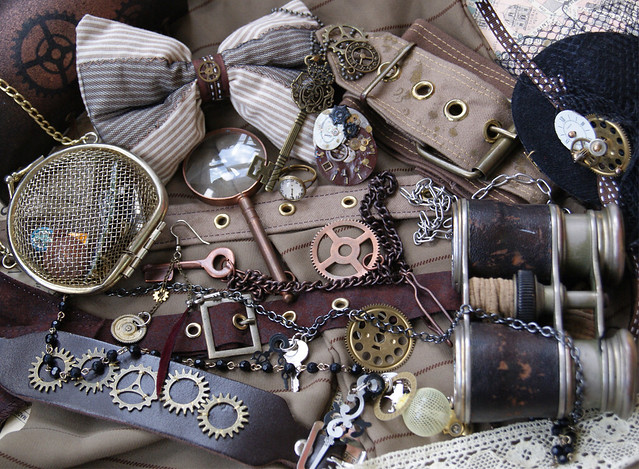 Ring In The Steampunk Decor To Pimp Up Your Home: Steampunk Mood Board (ver.2)
