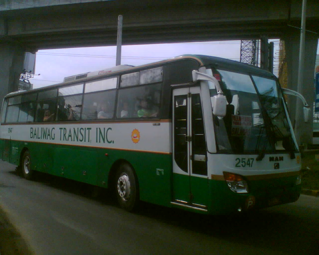 ... Baliwag Transit Inc. 2547 | by Bus Ticket Collector XII; Christmas In  Our Hearts