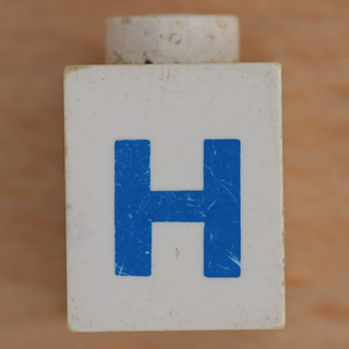 Lego Letter H | by Leo Reynolds