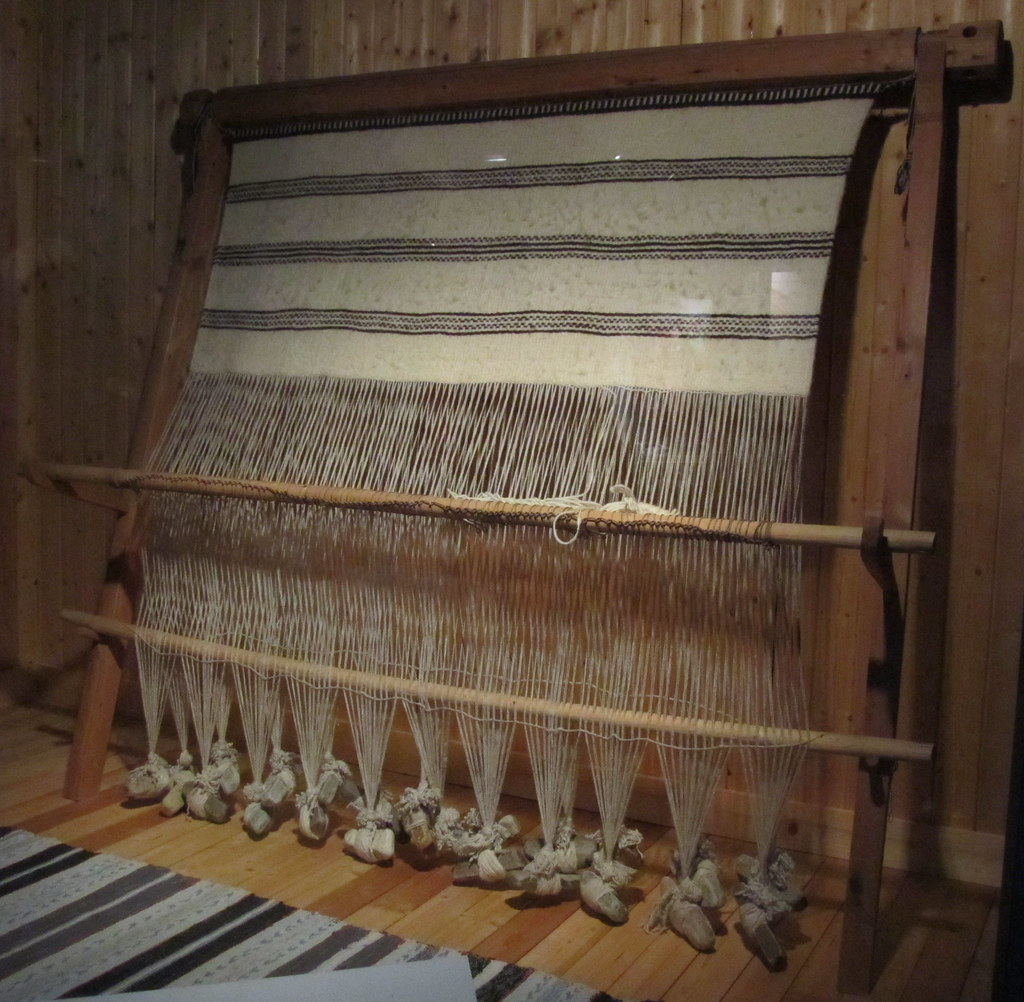 Sami Vertical Loom Warp Weighted Loom Resemble The Looms
