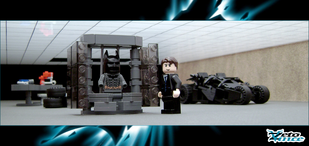 The Dark Knights Batcave This Is The Batcave From The Dar Flickr