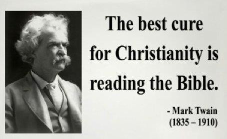mark twain essays on religion Religious symbolism in huckleberry finn saved essays save your essays there are many ways that mark twain illustrates religion through huckleberry finn.