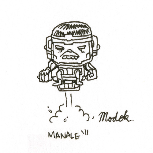 MODOK by Steve Manale | by killswitched