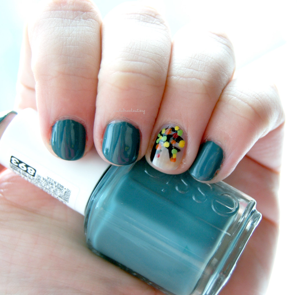 Prettyfulz Fall Nail Art Design 2011: I Bookmarked A Manicure I Loved A Few Weeks