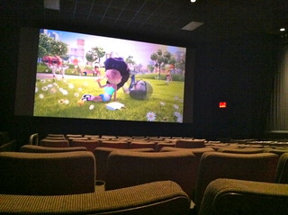 Alone in a Movie Theater | by Studio Sarah Lou