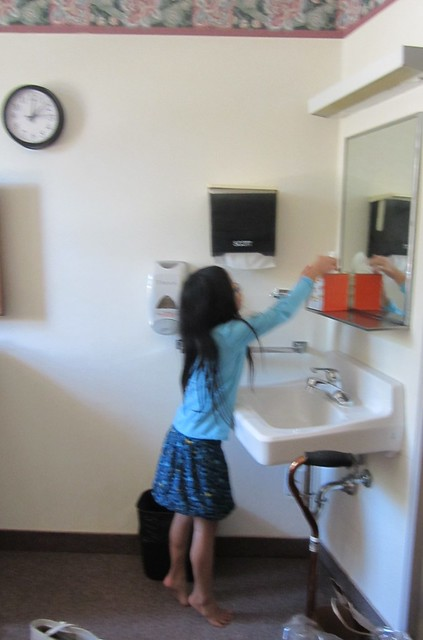 Olivia Decorating A Nursing Home Room Flickr Photo