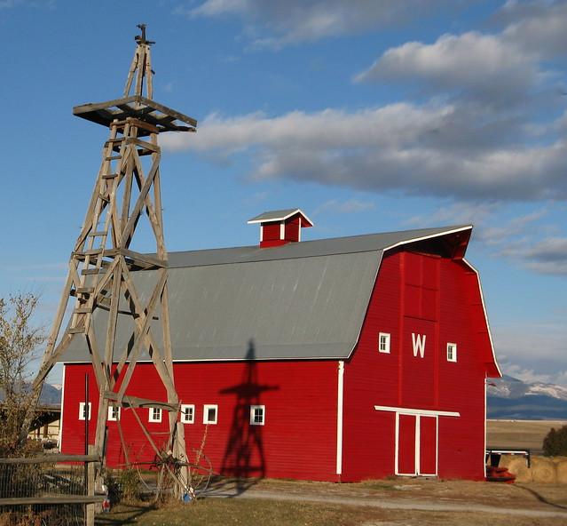 Barn Near Townsend Montana Flickr Photo Sharing
