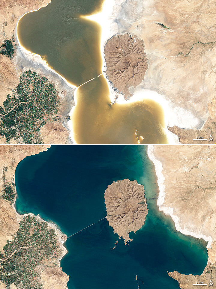 Lake Orumiyeh Iran To download the full resolution and ot Flickr