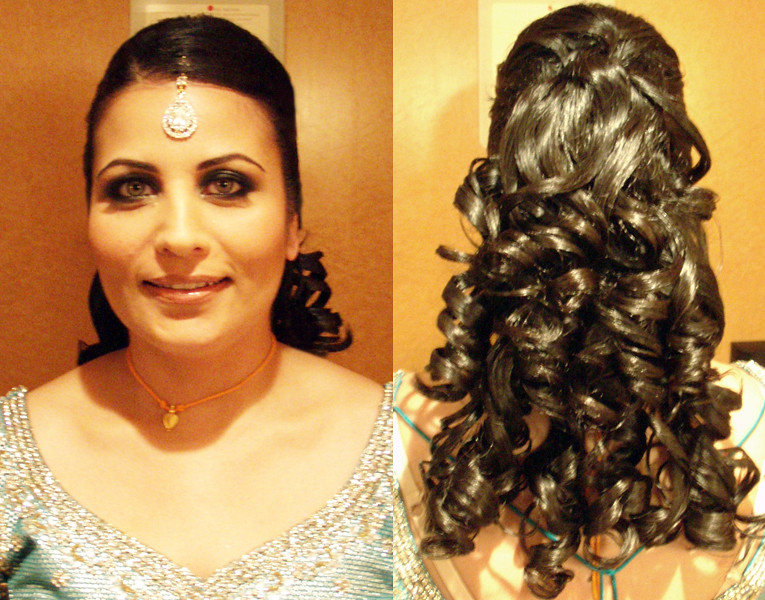 indian-bridal-hairstyle-half-updo | Victoria | Flickr
