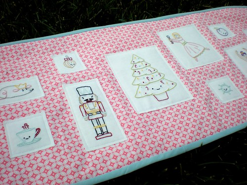 Nutcracker Sweets Table Runner | by xperimentl