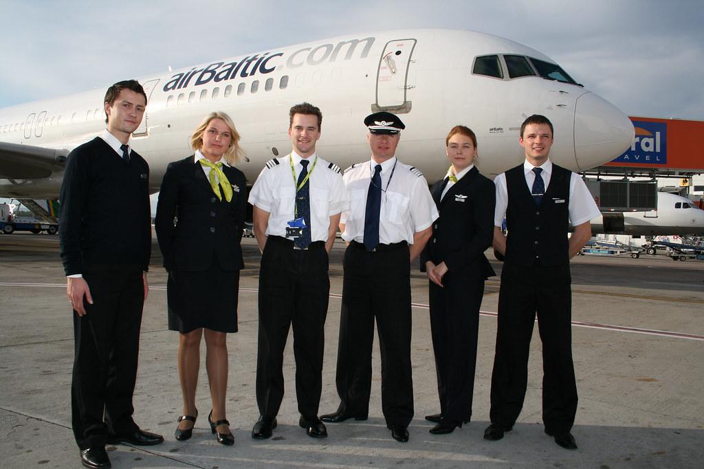 Air Baltic B757 Crew Air Baltic B757 Crew C Tommy