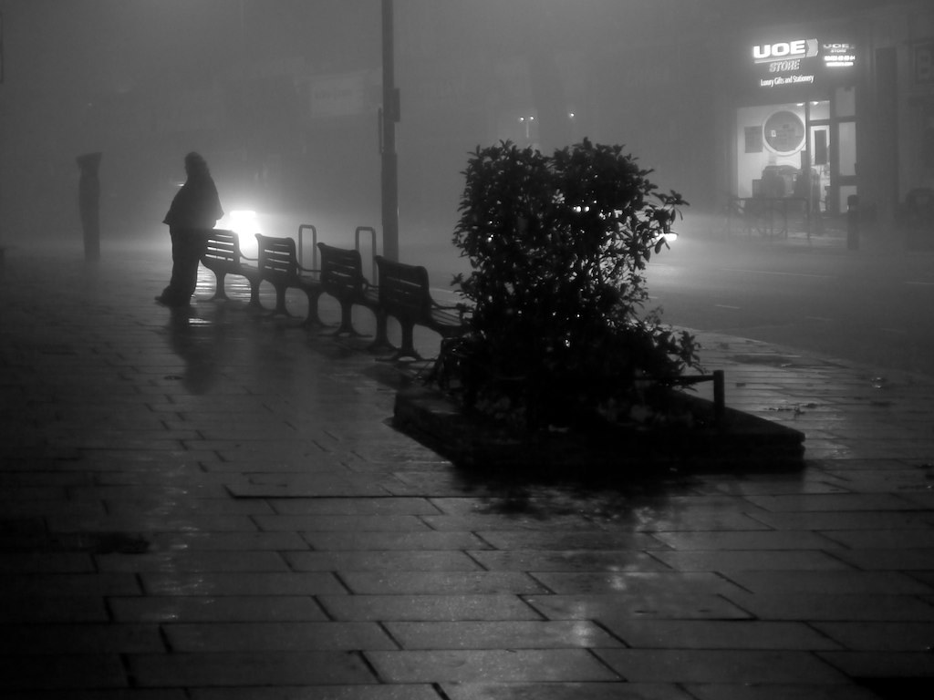 Foggy London Street 2