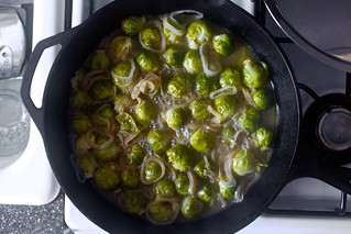 braised sprouts | by smitten kitchen