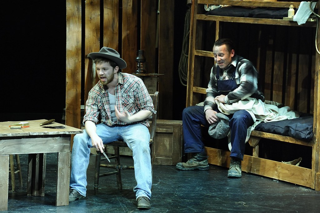 of mice and men message First reviews for the broadway revival of of mice and men have been positive, especially for o'dowd's performance, as well as franco's performance and shapiro's directing.