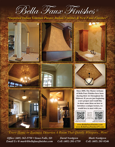 Bella Faux Finishes - Venetian Plaster - Faux Finishes - Italian Finishes - Sioux Falls, South Dakota | by BellaFauxFinishes