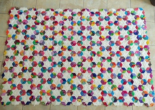 Merrill's diamond stars | by life under quilts