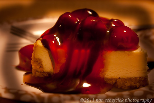 (Red) Cherries on Cheesecake | by Nanspix
