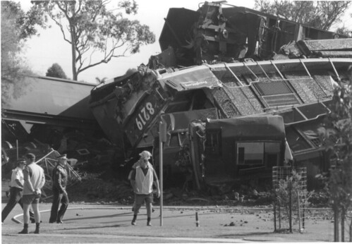Beresfield Train Crash 1997 - 8219 | by TrainDriverYoda