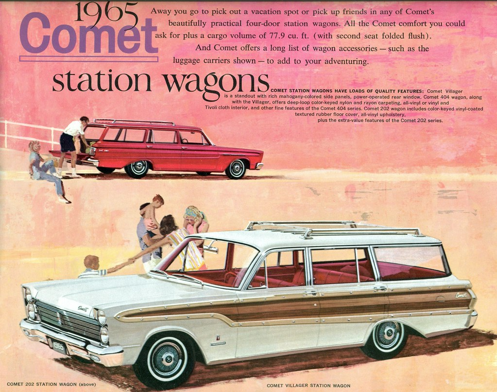 1965 Mercury Comet Villager and 202 Station Wagon | coconv | Flickr