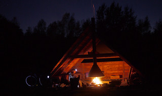 Campfire at the natuurcamping in Sellingen | by travelling two