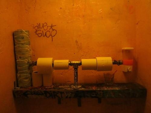 The Bathroom At 169 Bar Chinatown Nyc Chris Goldberg