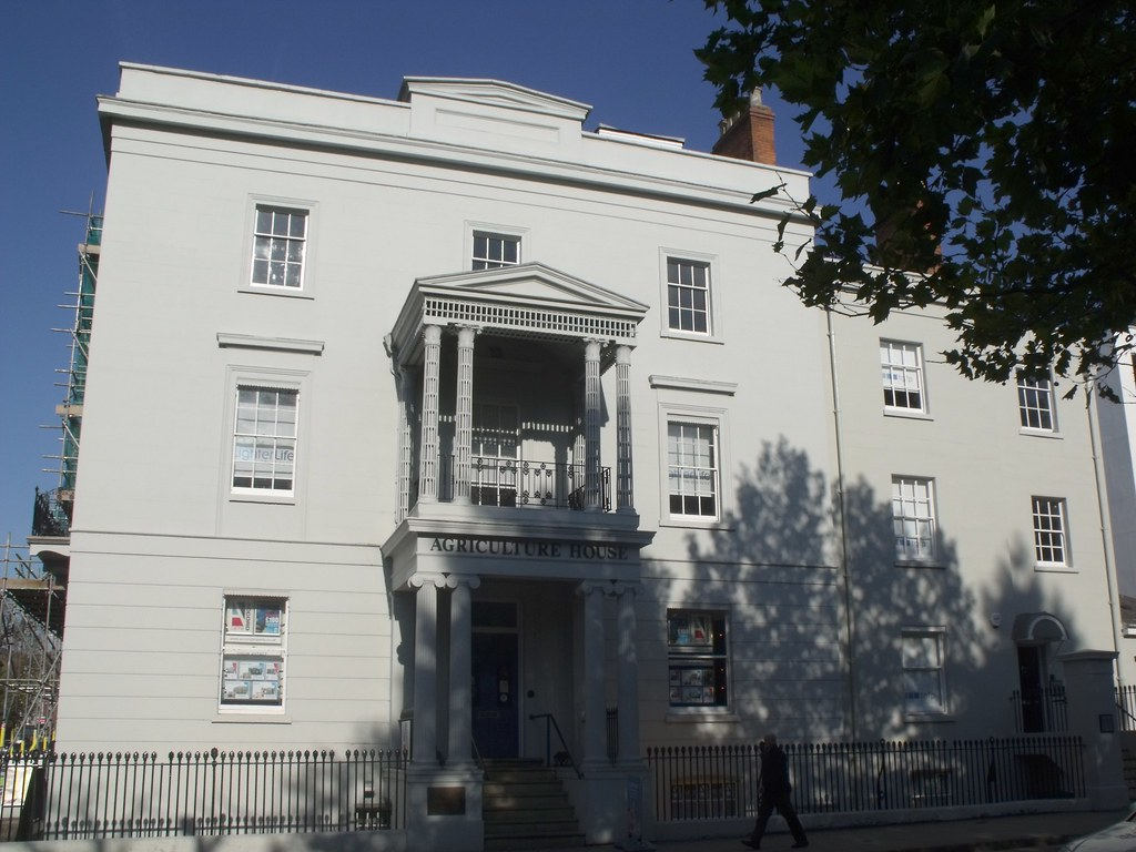 Agriculture house newbold terrace leamington spa flickr for Modern homes leamington