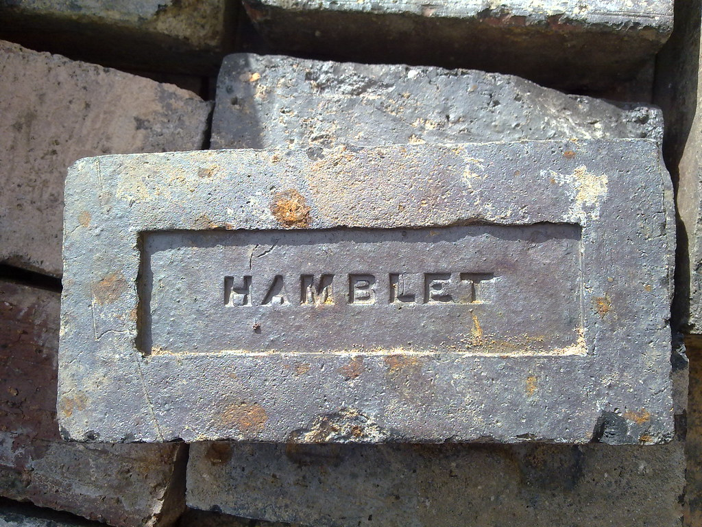 Hamblet Staffordshire Blue Engineering Brick - salvaged fr… | Flickr