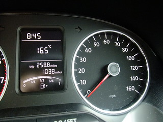 Non-Linear Speedometer VW Polo | by stevenbrandist