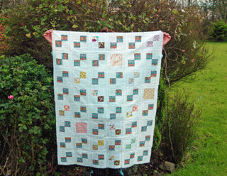 Pastel Bloom Quilt | by listen to the birds sing