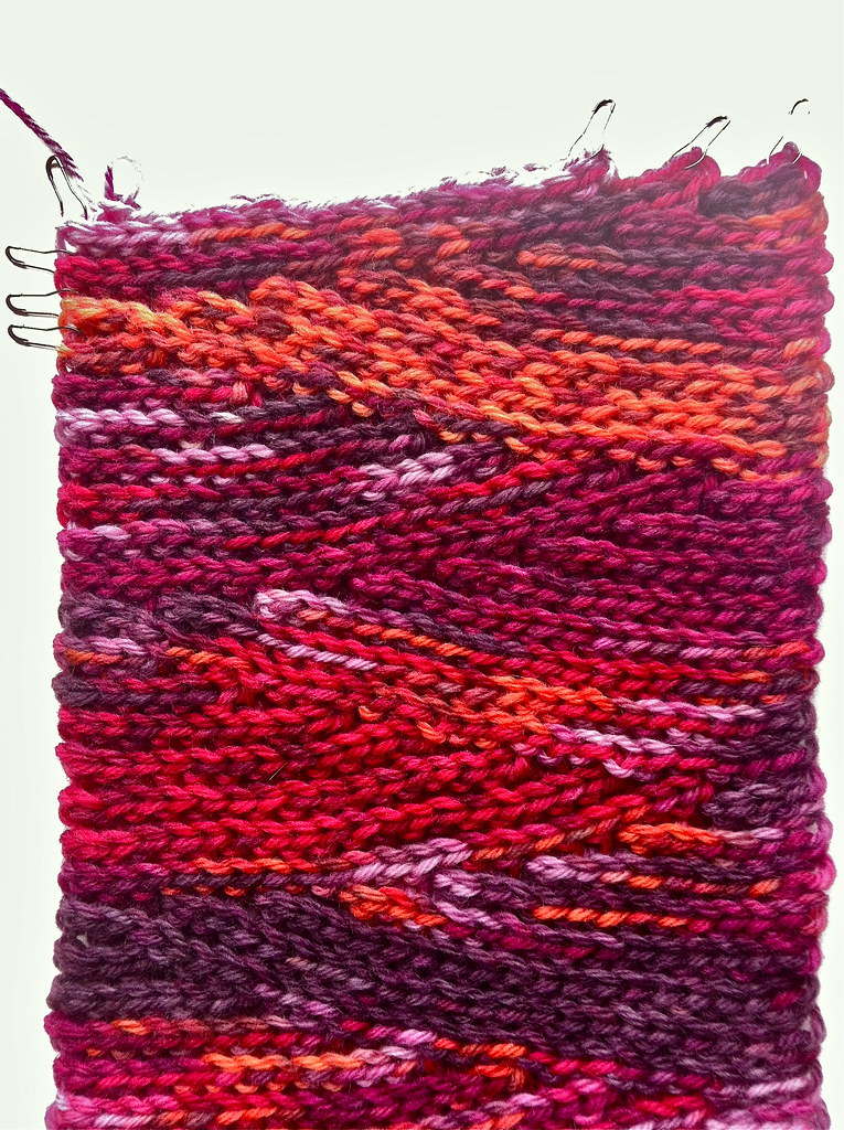 Knitting Stitches Short Rows : Slip Slope Scarf: Short Row Progress Free pattern in Ravel? Flickr