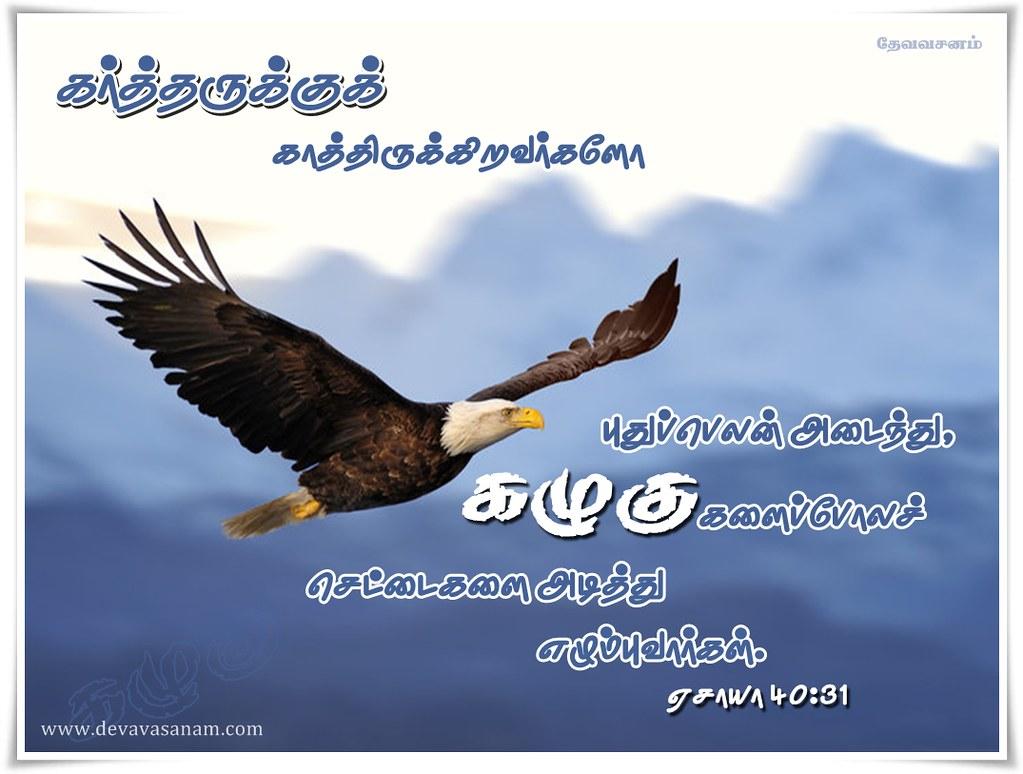 tamil bible desktop wallpaper isa 40:31 | devavasanam vivekk7 | flickr