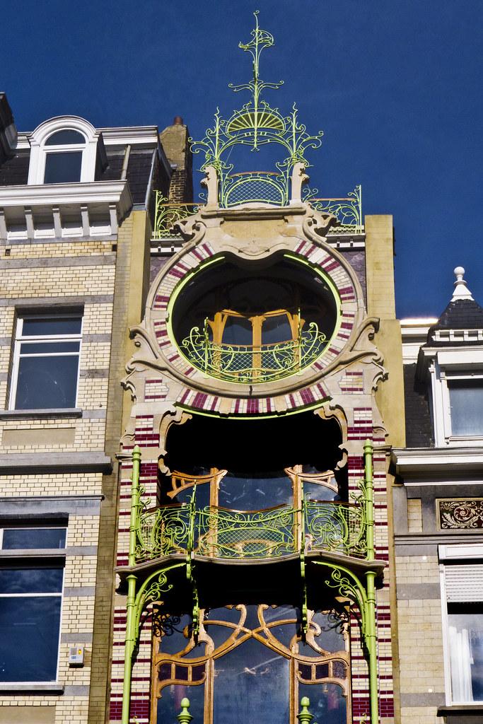 Maison saint cyr architecte gustave strauven 1903 for Architecte bruxelles