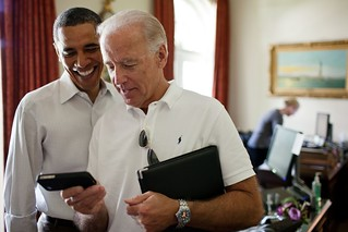 Vice President Joe Biden and President Barack Obama | by U.S. Embassy Jakarta, Indonesia