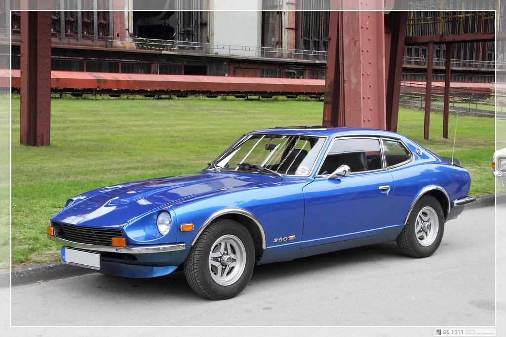 1974 Datsun 260Z (03) | The Datsun 260Z was sold in the ...