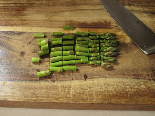 chopped asparagus | by Madison Bistro