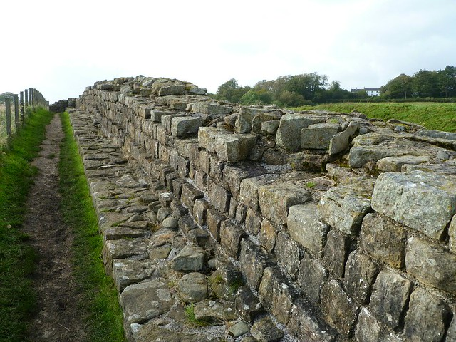 curtain wall east of Willowford