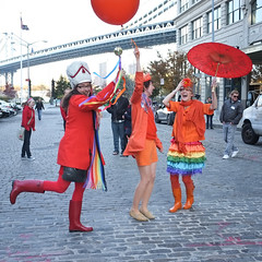 Three More Colorful Ladies @ Rainbow Parade @NewYork_CM
