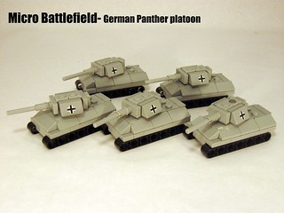 "German Panther Tank platoon | by ""Rumrunner"""