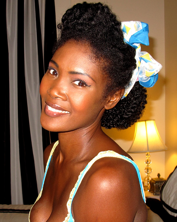 Enjoyable Angelique Noire 1940S Hair Inspiration For Kinky Hair Flickr Hairstyle Inspiration Daily Dogsangcom