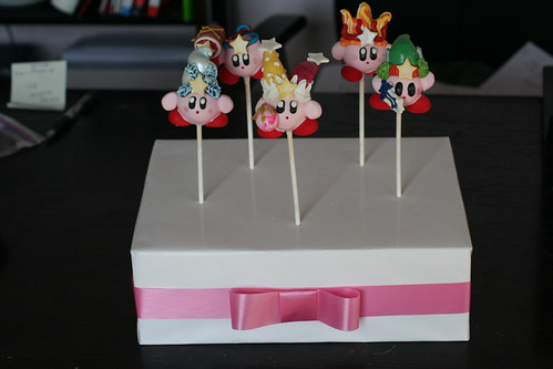 Kirby Cake Pops in Presentation! | by Sweet Lauren Cakes