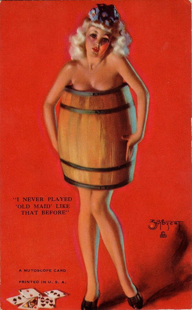 Naked Girl In Barrel | Gintaras Rumšas | Flickr