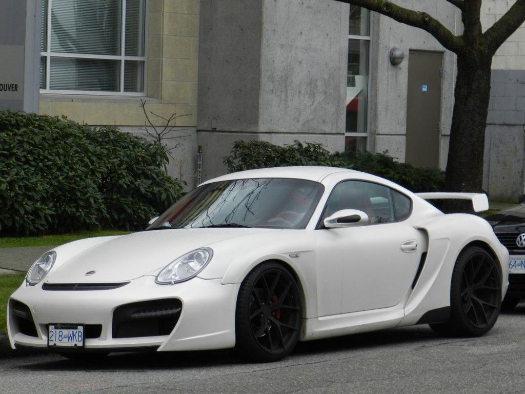Techart Widebody Porsche Cayman Reynaldo Gibbs Flickr