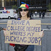 Occupy Wall Street Series - No Fucking Job